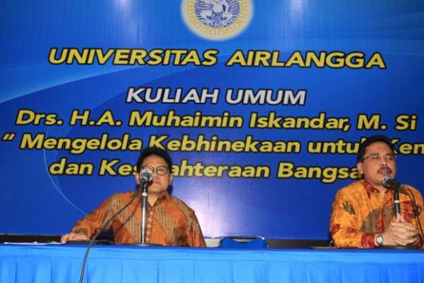 Cak Imin Sampaikan Kuliah Umum Kebhinekaan di Unair Surabaya