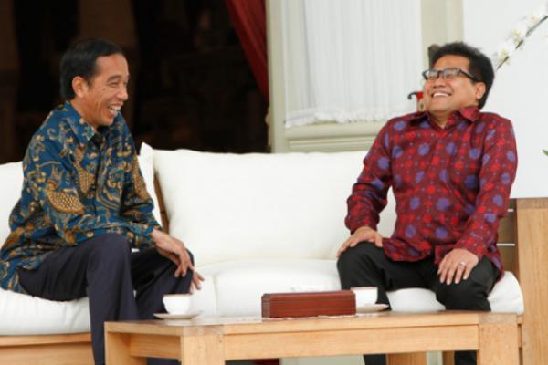 Survei Median: Cak Imin Didukung 100% Konstituennya Jika Berpasangan dengan Jokowi