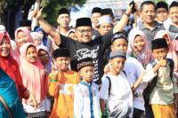 Panglima Santri Nusantara Hadiri Mlaku di Mojokerto