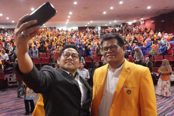 Rektor UNM Makassar Puji Cak Imin Sebagai Tokoh Berpengaruh