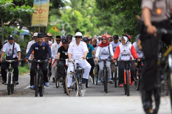 Gowes Pakai Ontel, Menpora Canangkan Hari Bersepeda Nasional