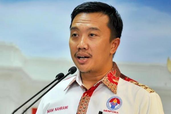 Imam Nahrawi Hadiri Kejuaraan Voli Junior di Bekasi