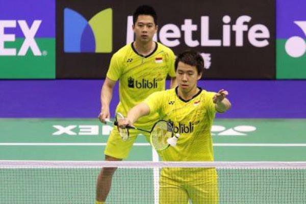 Kevin/Marcus Tapaki Babak Semifinal Hongkong Open 2017