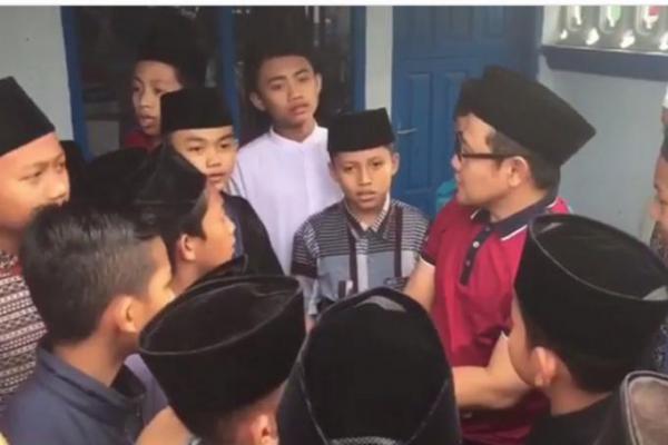 Cak Imin Kunjungi Santri Pesantren Tarbiyah Islamiyah