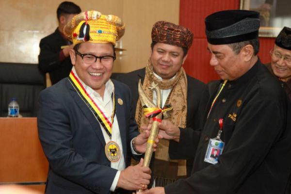 Cak Imin Jadi Anggota Kehormatan Lembaga Kerapatan Adat Alam Minangkabau