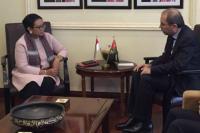 Menlu Retno: Yordania Apresiasi Komitmen Indonesia Soal Palestina