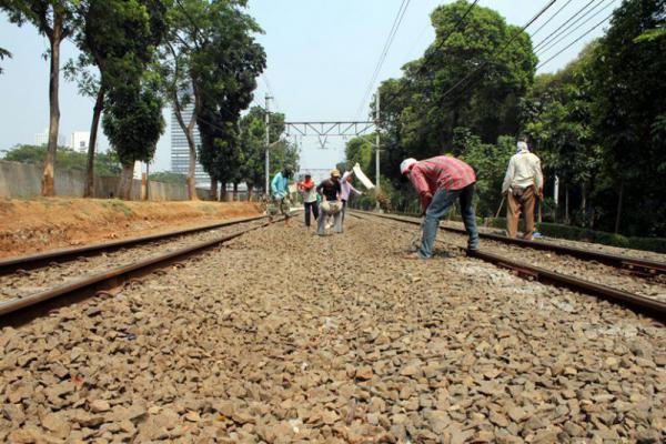 Tahun 2017, Pemerintah Telah Bangun 175 KM Jalur Kereta Api