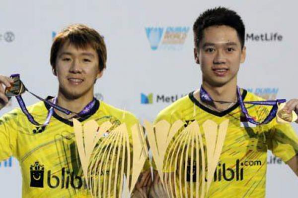 Indonesia Juara Dunia Ganda Putra Badminton 2017