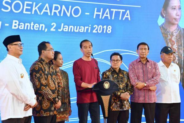 Jokowi: 67 Triliun Hilang Karena Macet