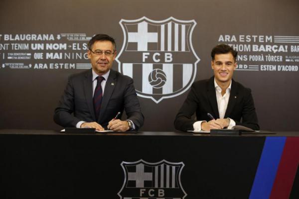 Coutinho Resmi Berbaju Barcelona