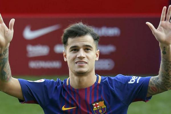 Coutinho Gunakan Nomor Punggung Legenda Barcelona