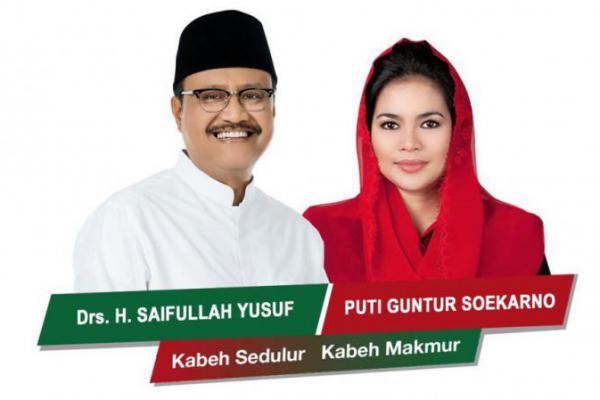 PDI-P Resmi Rekom Puti Dampingi Gus Ipul, PKB: Selamat