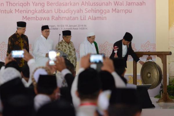 Buka Muktamar XII Jatman, Jokowi Titip Pesan Ini ke Ulama
