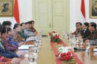 Bertemu Utusan PM Jepang, Ini Kata Jokowi