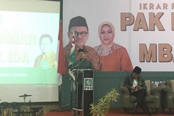 Cak Imin: Mbak Ida Sudah Saya Wakafkan untuk Jateng