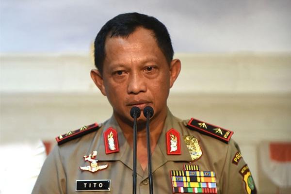 Kapolda Riau, Papua dan Sulawesi Tenggara Diganti Kapolri
