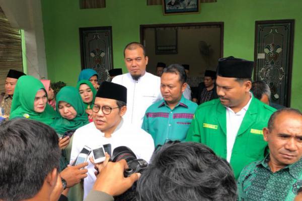 Di Riau, Cak Imin Didoakan Alim Ulama Jadi Wapres 2019