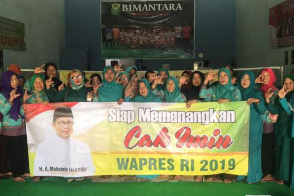 Kader Posyandu Purwoharjo Dukung Cak Imin Wapres 2019