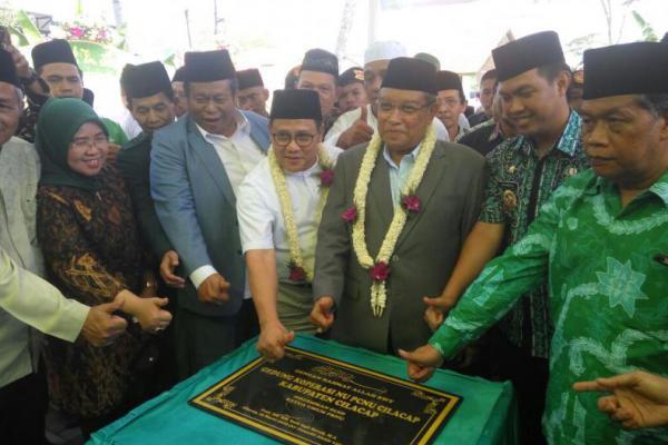 Resmikan Koperasi NU di Cilacap, Kiai Said Sebut Cak Imin Cawapres
