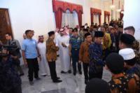 Jokowi Menerima Kunjungan Peserta Musabaqoh Hafalan Quran dan Hadis di Istana