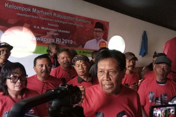 Kagumi Soedurisme, Kader PDIP & Marhaenis Bandung Dukung Cak Imin Wapres Jokowi