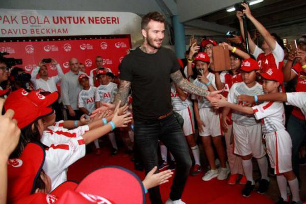 Pesan Penting dari David Beckham: Sehat Tak Perlu Mahal!