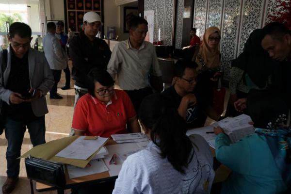 Peserta Rakornas KPI 2018 Mulai Padati Kota Palu