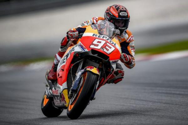 MotoGP Prancis 2018 Banyak Crash, Marques Juara