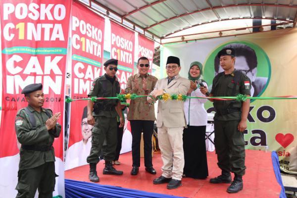 Ucap Basmalah, Cak Imin Resmikan Posko Cinta di Lampung