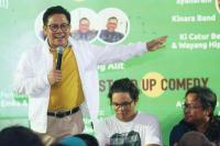Prabowo Nyapres, Cak Imin: PKB Tetap ke Jokowi