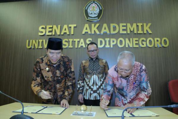 Kemnaker RI Teken Kerja Sama dengan Universitas Diponegoro Terkait Desa Migran Produktif