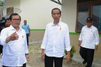 Ke Pangandaran, Jokowi Tinjau Perumahan Nelayan