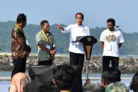 Resmikan KJA, Jokowi Harap Budidaya Ikan Meningkat