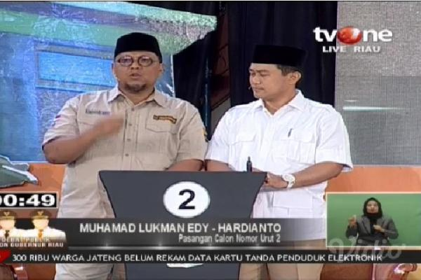 Cegah Korupsi, Lukman Edy Dorong Modernisasi Sistem Pemerintahan Riau