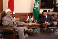 Jenguk Wiranto, Ketum PBNU Minta Pemerintah Tegas Cegah Radikalisme