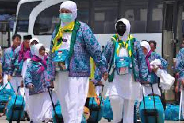 Pemberangkatan Jemaah Haji Gelombang I Berjalan Lancar