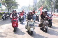 Bro Imin Bikers Gaungkan Asian Games dan Bersih-bersih GBK