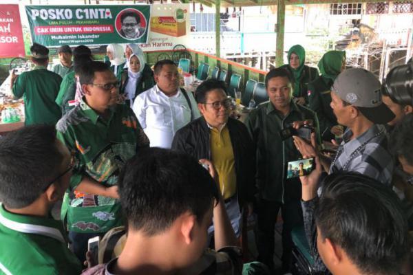 Cak Imin Hadiri Apel Kesetiaan NKRI Bersama 10000 Nahdliyin di Riau