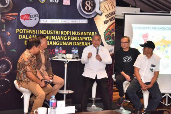 Mendes Bicara Potensi Kopi Nusantara di Seminar `Gatra Bicara`
