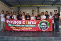 Ratusan Posko Cinta Hiasi Kota-kota di Kalimantan Selatan