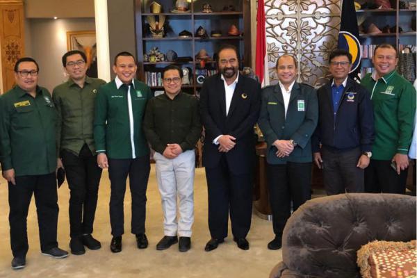 Surya Paloh Sambut Positif Cak Imin Cawapres Jokowi