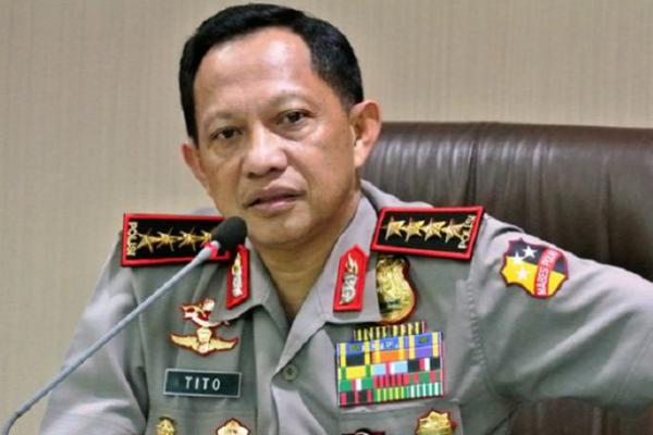 Tito Jabat Menteri, Komjen Ari Dono Sukmanto Jabat Plt Kapolri
