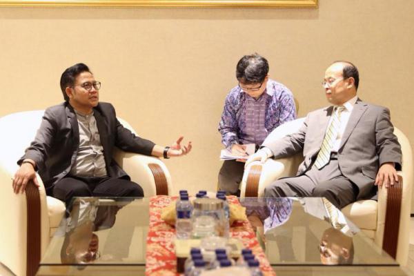 Dubes Tiongkok Temui Cak Imin: Prioritaskan Pekerja Indonesia!