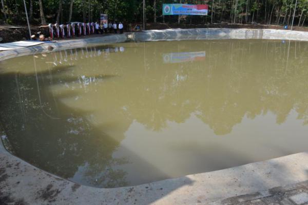 Kemendesa Harap Embung Jadi Pusat Ekonomi Masyarakat Desa