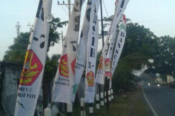 Memasang Bendera Ansor Tanpa Idzin Saat Nobar, GP Ansor Pati Tuntut Pasangan Ganjar-Yasin