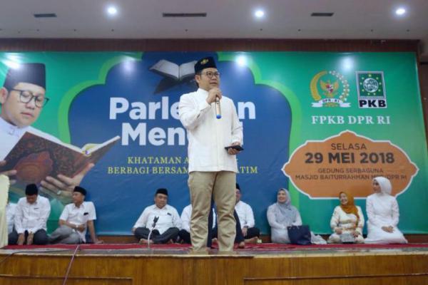 Koornas Nusantara Mengaji: Ramadan Tahun Depan Cak Imin Wapres