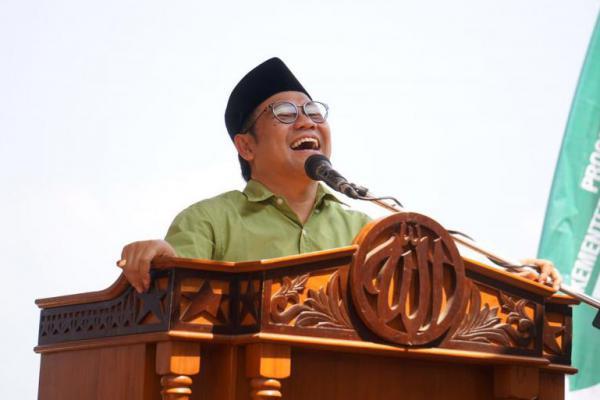 Di Makam Pendiri NU Jabar, Cak Imin: Saya Siap Jadi Wapres