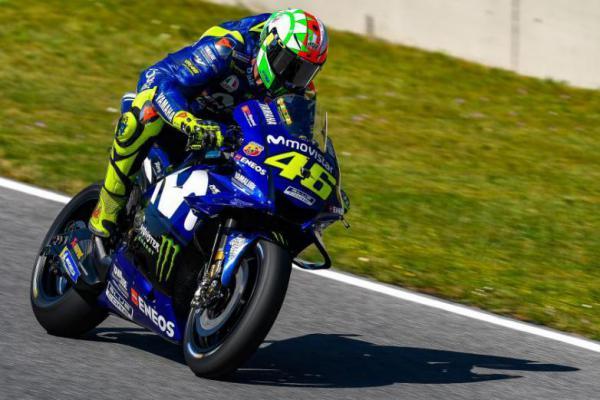 Raih Podium Ketiga, Rossi Sebut Karena Pemilihan Ban yang Tepat