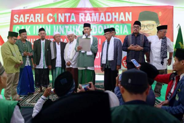 Cak Imin Terima Mandat Cawapres dari Majelis Kiai dan Ulama se Bogor