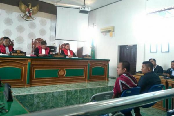 Timses Firdaus-Rusli Dituntut 3,6 Tahun Penjara dan Denda 200 Juta